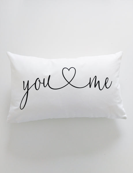Throw Pillow You And Me Bedroom Decor Master Bedroom Lumbar Pillow