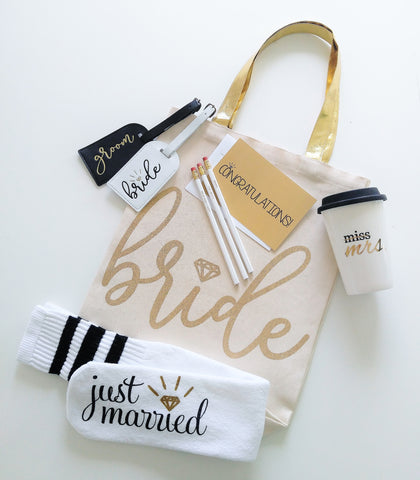 Bride to Be Gift Box Engagement Gift Box for Bride Gift Box for Her Bridal Shower Gift Holiday Gift for Bride Wedding Planning Gift Box