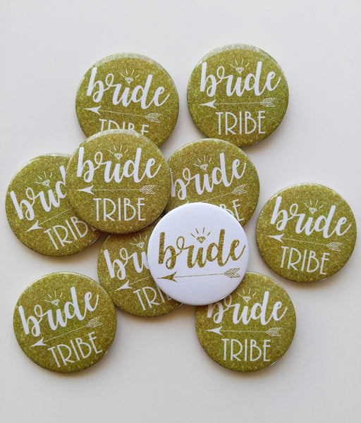 Bride Tribe Buttons Bachelorette Pins Bachelorette Buttons Bachelorette Party Bride Tribe Pins Hen Party Bride Tribe Badges