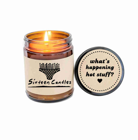 Sixteen Candles Gift Birthday Cake Scented Candle Jake Ryan I Love The 80s Gift 80s Movie Quotes