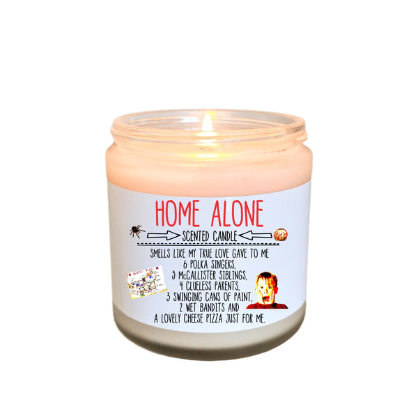 Home Alone Christmas Gift Home Alone Christmas Movie Gift Stocking Stuffer Holiday Candle Funny Candle Gift Christmas Candle