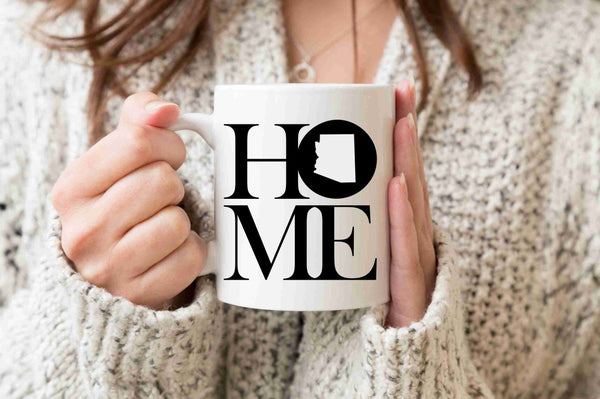 Arizona Mug State Mug Coffee Mug Home Mug Homesick Gift No Place Like Home Best Friend Gift