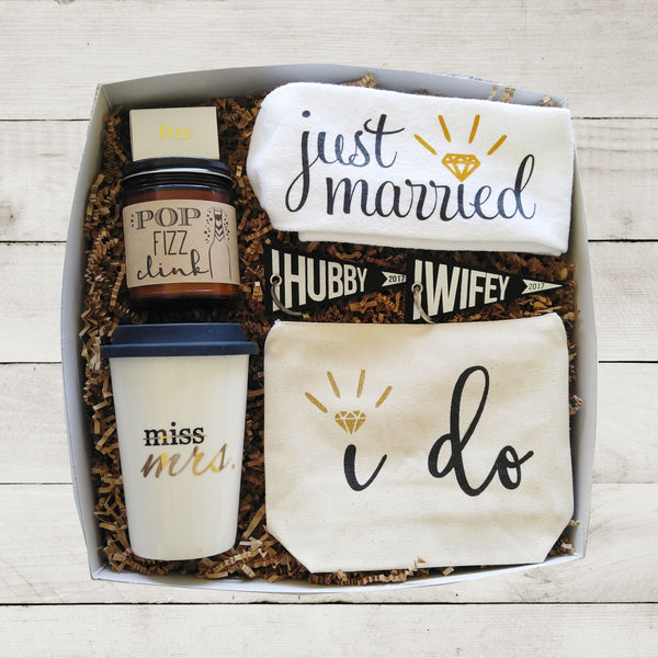 Bride Gift Box for Her Wedding Day Gift for Bride Miss to Mrs Bridal Shower Gift Just Married Gift