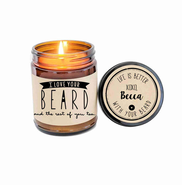 I Love Your Beard Gift Beard Card Beard Humor Fear The Beard Beards Rule Hipster Gift Boyfriend Gift