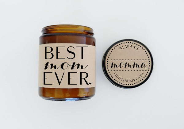Best Mom Ever Mothers Day Gift Birthday Gift for Mom Scented Candle Mom Gift Candle Gift for Her