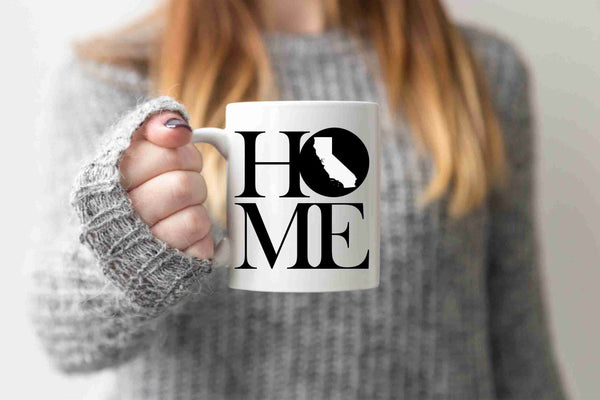California Mug State Mug Coffee Mug Home Mug No Place Like Home