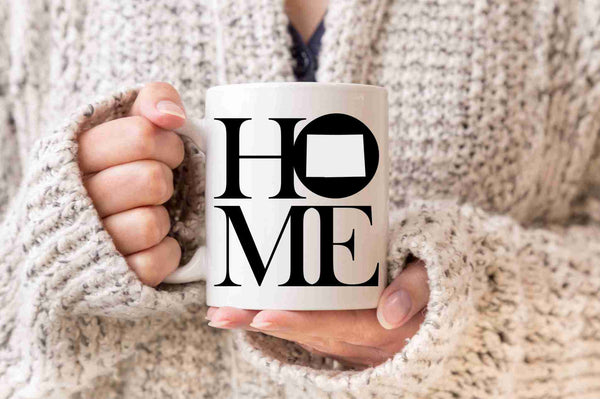 Colorado Mug State Mug Coffee Mug Home Mug Homesick Gift No Place Like Home