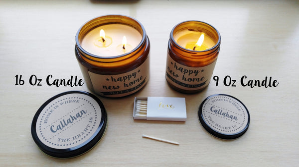 Valentine Gift for Him To Me You Are Home Soy Candle Gift for Her Gift for Wife Gift for Husband