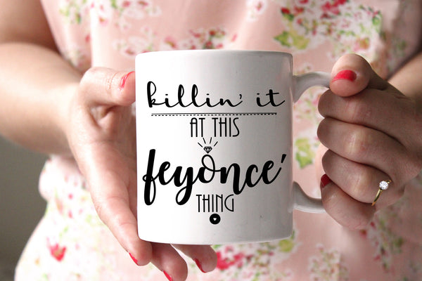 Feyonce Mug Engaged Mug Engagement Gift for Bride to Be Engagement Mug Gift Bridal Shower Gift