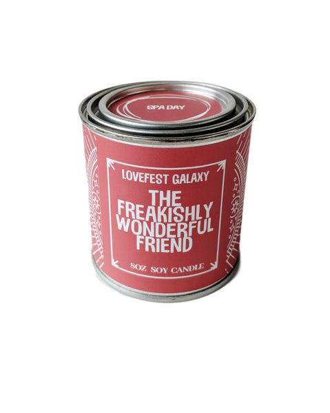 Best Friend Gift for Friend Scented Candle Jar Candle Gift for BFF Long Distance Friend Stocking Stuffer Gift Holiday Candle Holiday Gift