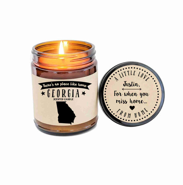 Georgia Candle Scented Candle Missing Home No Place Like Home State Candle
