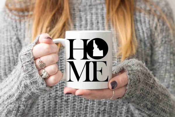 Idaho Mug State Mug Coffee Mug Home Mug Homesick Gift No Place Like Home State Mug Gift