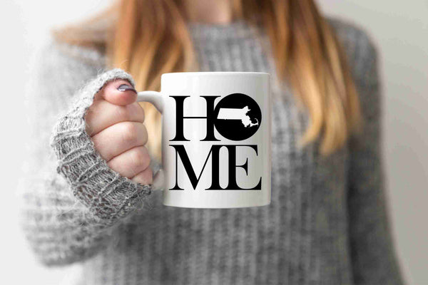 Massachusetts Mug State Mug Coffee Mug Home Mug Homesick Gift Housewarming Gift