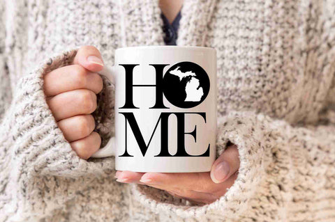 Michigan Mug State Mug Coffee Mug Home Mug Smitten Mug Realtor Gift New Home Gift