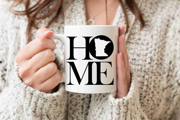 Minnesota Mug State Mug Coffee Mug Home Mug Homesick Gift Realtor Gift New Home Gift First Home