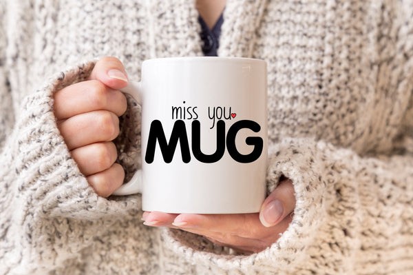 Long Distance Relationship Gift Miss You Mug Missing You I Miss You LDR Boyfriend Girlfriend Gift