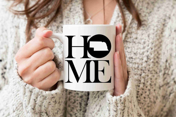 Nebraska Mug State Mug Coffee Mug Home Mug Homesick Gift Nebraska Gift New Home Gift