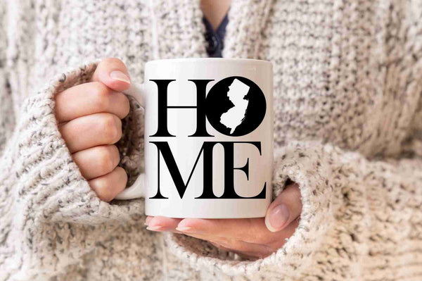New Jersey Mug State Mug Coffee Mug Home Mug Homesick Gift  Welcome Home Gift New Home Gift