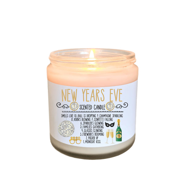 New Years Eve Party Gift NYE Party Gift New Years Candle 2020 New Year Gift NYE Candle 2020 New Years Party Favor