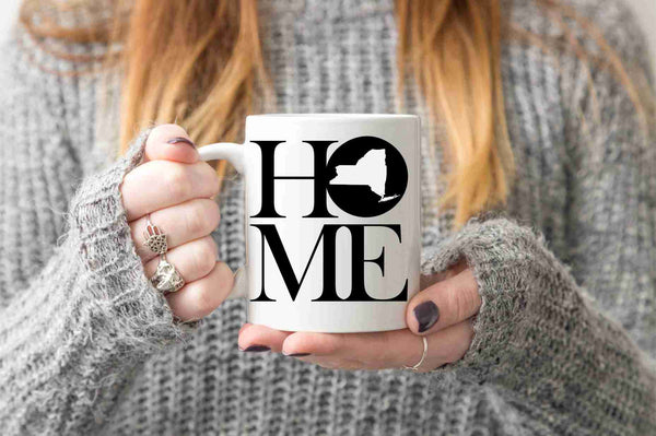 New York Mug State Mug Coffee Mug Home Mug Homesick Gift New York Gift New Home Gift