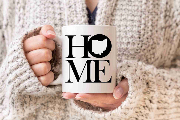 Ohio Mug State Mug Coffee Mug Home Mug Homesick Gift Ohio Gift Welcome Home Gift New Home Gift