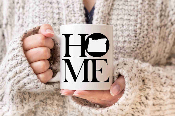Oregon Mug State Mug Coffee Mug Home Mug Gift Welcome Home Gift New Home Gift