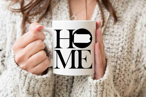Pennsylvania Mug State Mug Coffee Mug Home Mug Pennsylvania State Gift Missing Home