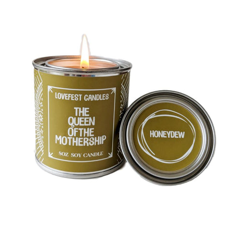 Lady Boss Gift Queen of the Mothership Paint Tin Candle Gift for Boss Gift for Friend Like a Boss Stocking Stuffer Gift Candle Holiday Gift