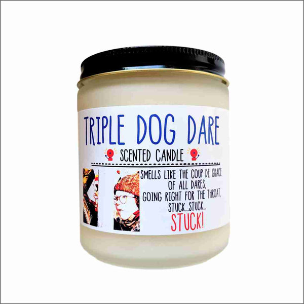 Triple Dog Dare A Christmas Story Christmas Candle Funny Holiday Gift White Elephant Gift Secret Santa Gift Stocking Stuffer