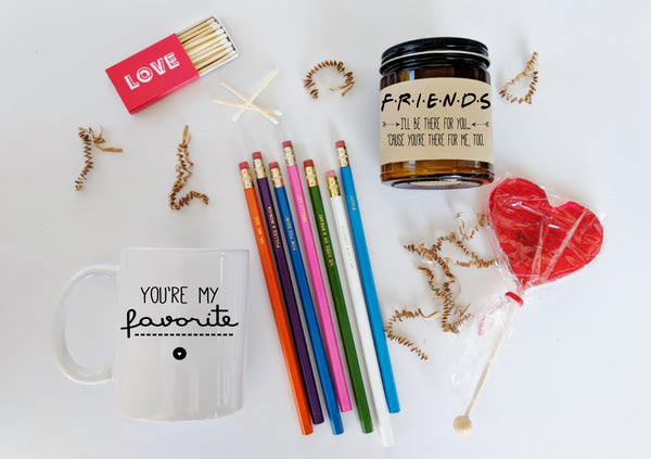 Friend Gift Friends TV Show Soy Candle Friend Birthday Gift Holiday Gift Ill Be There For You