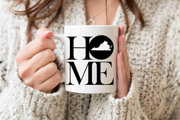 Virginia Mug State Mug Coffee Mug Home Mug Gift Virginia State Missing Home Welcome Gift