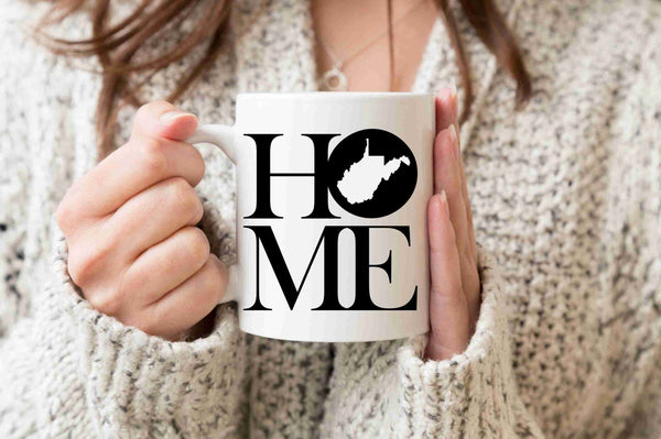 West Virginia Mug State Mug Coffee Mug Home Mug West Virginia State Gift Missing Home