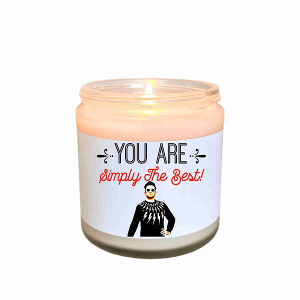 Schitts Creek Simply The Best Scented Candle Ew David Funny Valentine Gift for Her Pop Culture Candle