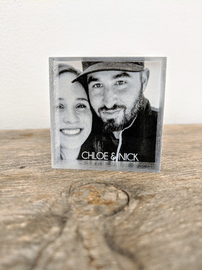 Mini Photo Block Acrylic Photo Block Custom Photo Gift Your Photo Block Prints Pictures on Acrylic Mini Photo Prints Gift for Couple