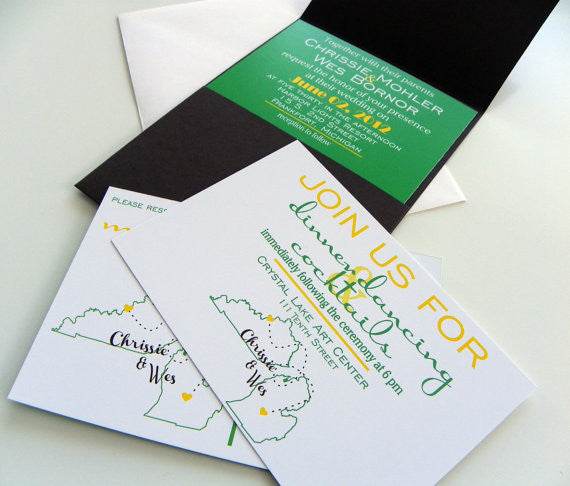 Love Will Find A Way Invitation Package