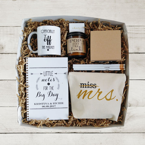 Future Mrs Gift Box Bride to Be Gift Bride Gift Box Newly Engaged Bridal Shower Gift