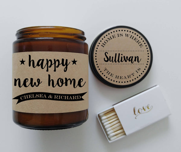 New Home Gift Housewarming Gift House Warming Gift First Home Gift Scented Candle