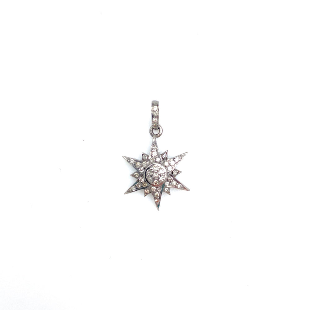 Compass Rose Star Pendant