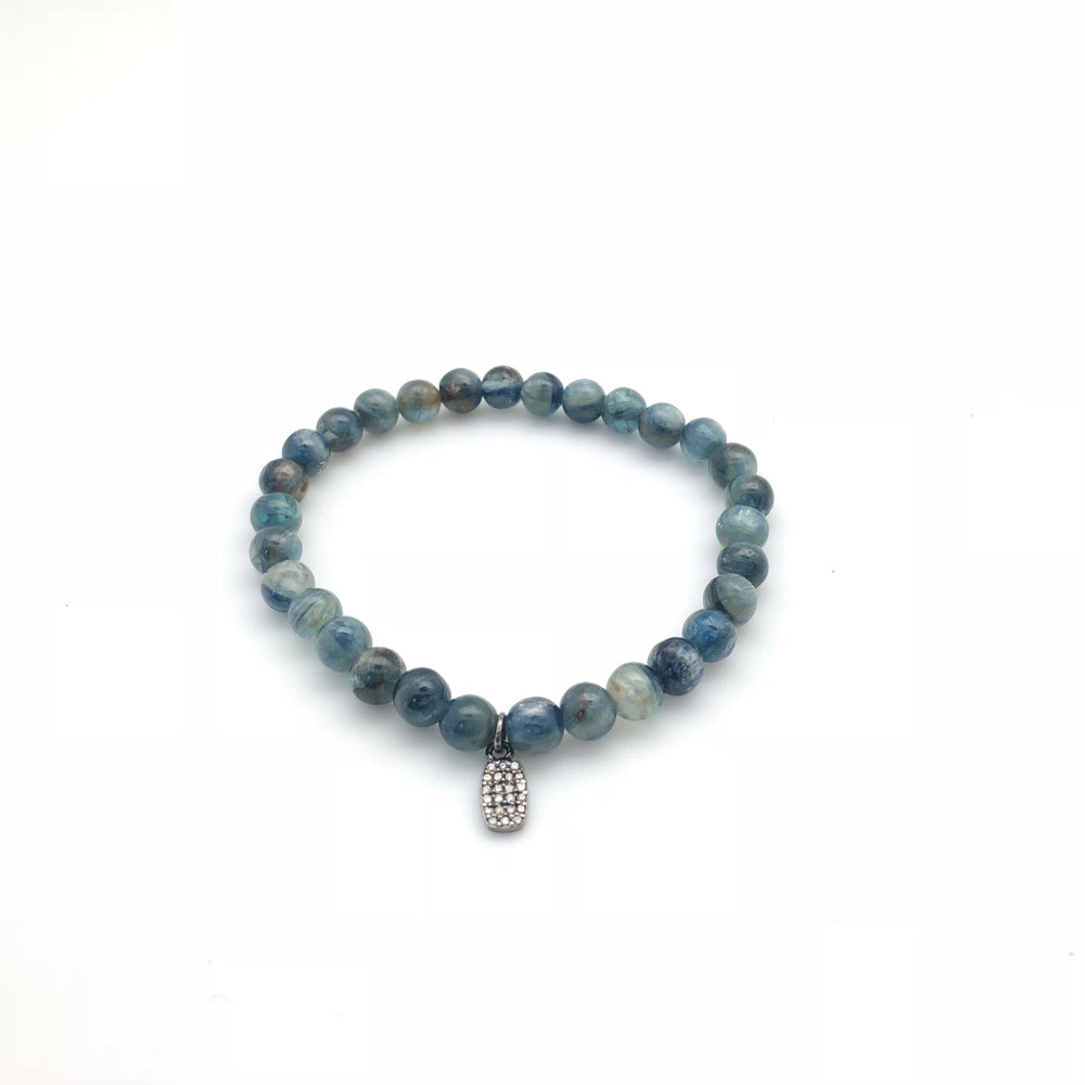 Kyanite Beaded Bracelet