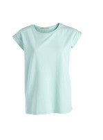 Basis t-shirt fra Pieces, soft mint - FondOfFashion.dk