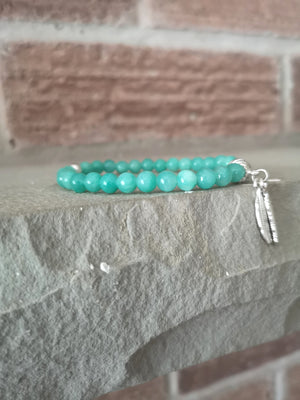 TWIN FEATHER - Turquoise