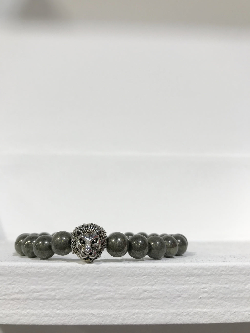 LION COLLEXION Mens Bracelet - Pyrite