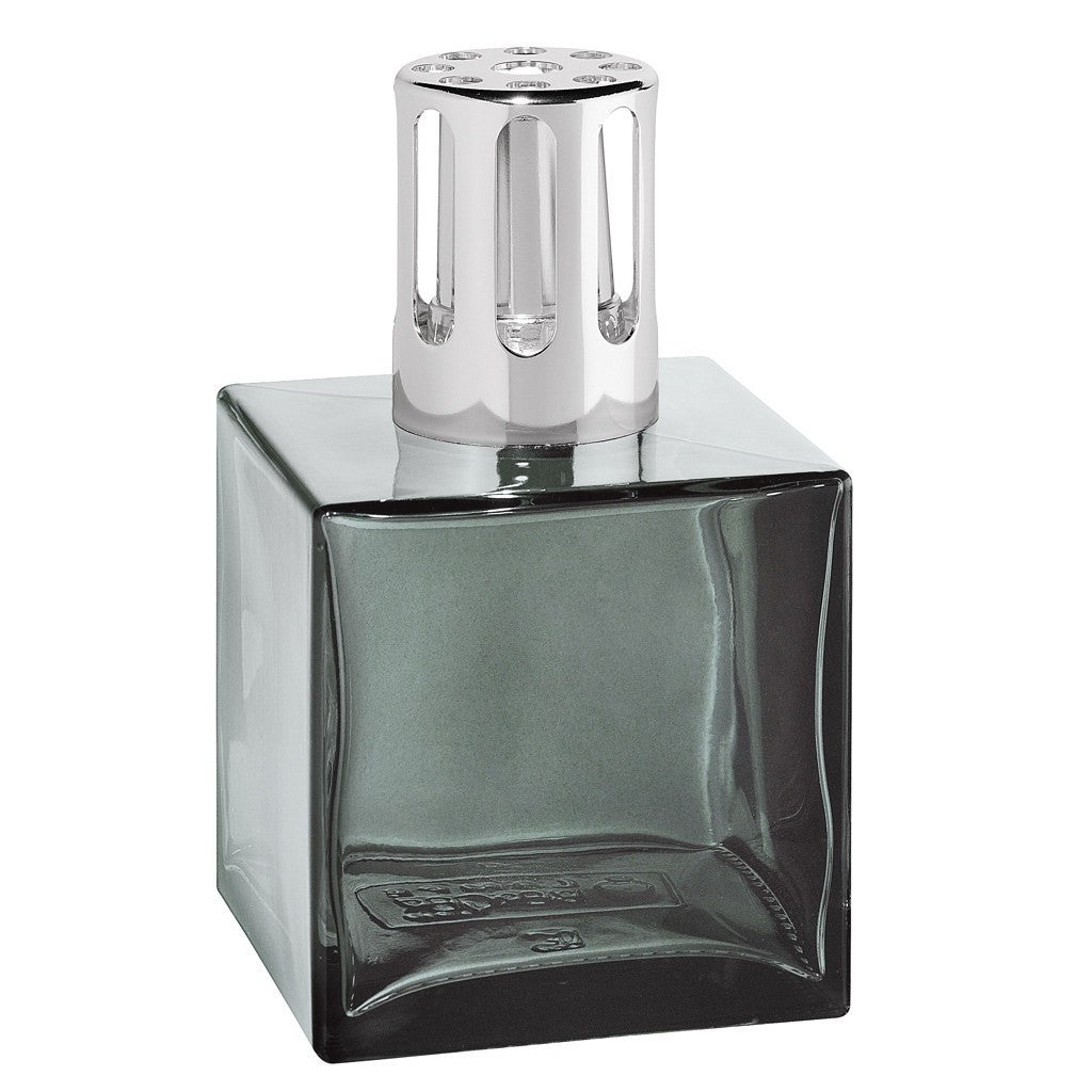 Cube Glass Lampe Berger Lamp - Grey