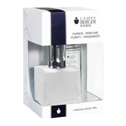 Cube Glass Lampe Berger Gift Set - Frosted