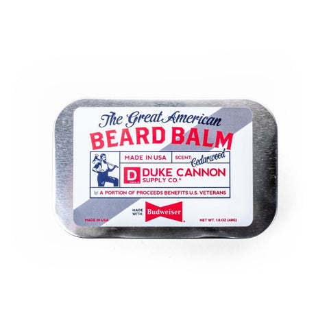 Duke Cannon Great American Budweiser Beard Balm
