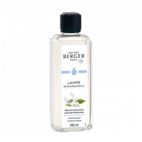 Lampe Berger Delicate White Musk Fragrance Oil 500 ml