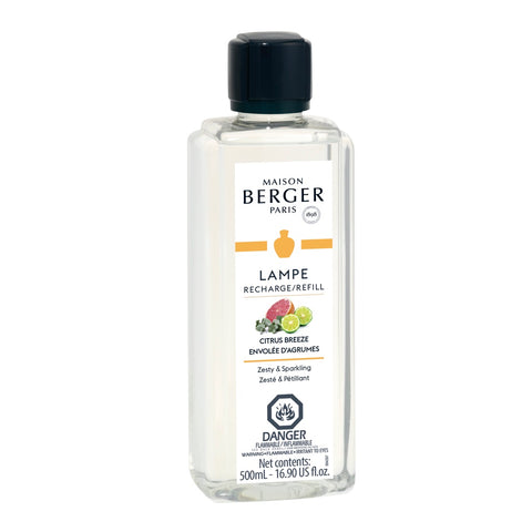 Lampe Berger Citrus Breeze Fragrance Oil 500 ml