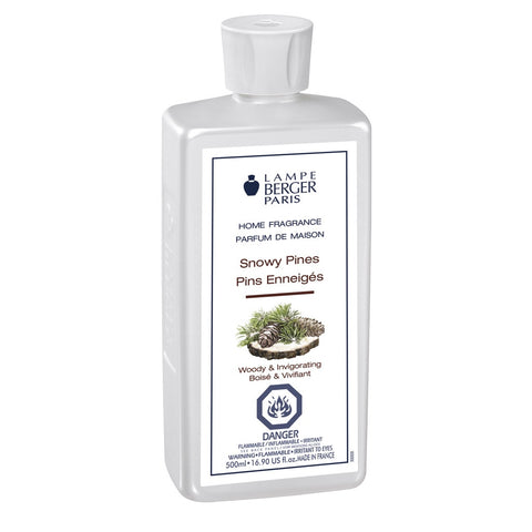 Lampe Berger Snowy Pines Fragrance Oil 500 ml