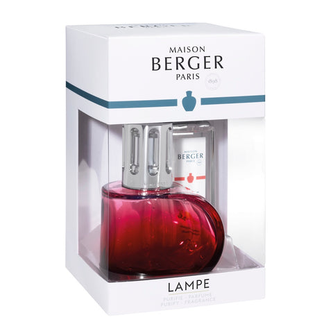 Alliance Glass Lampe Berger Gift Set - Red