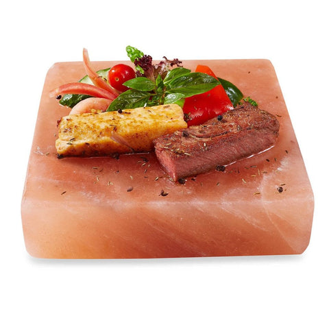 Himalayan Salt Cooking Block / Serving Plate - 8 x 8 x 2